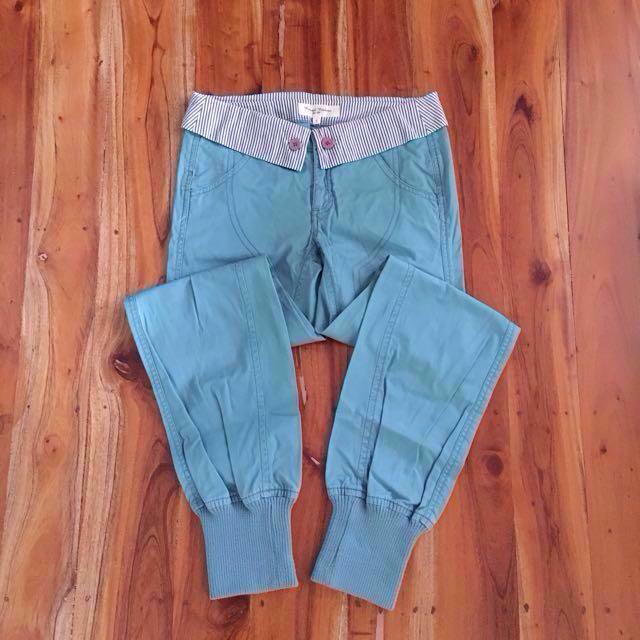 Aqua jogger pants
