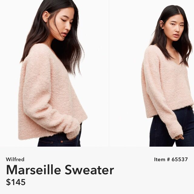 Aritzia Wilfred Marsielle Sweater