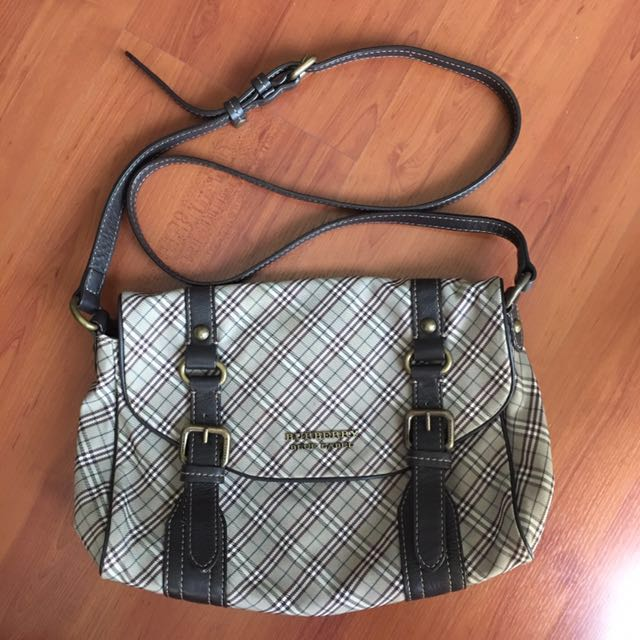 AUTHENTIC Burberry Blue Label Crossbody Sling Bag 565496679d5e6