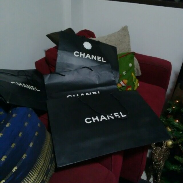 Authentic Chanel Paper Bags (sold separately)