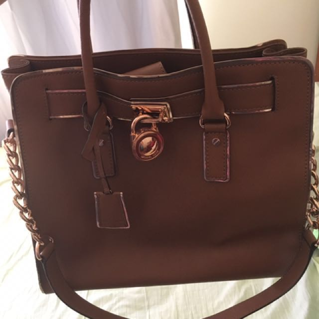 Authentic Michael kors hamilton large bag