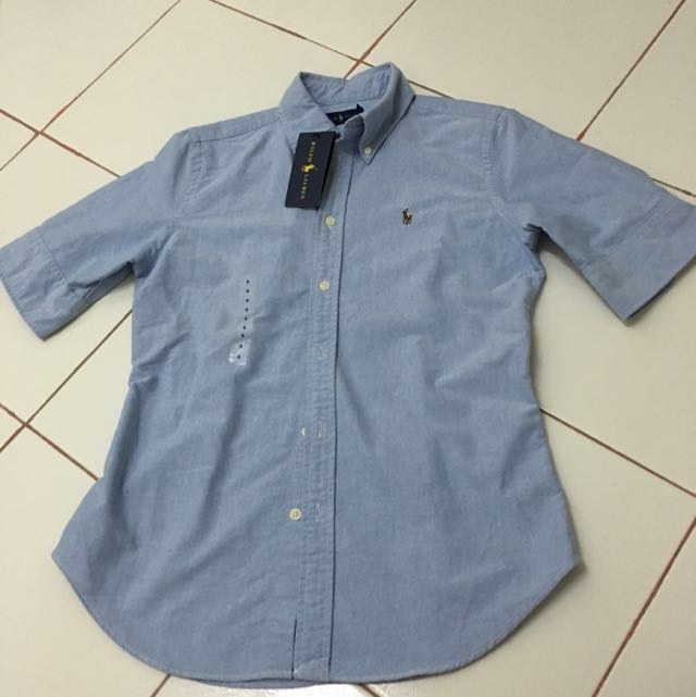 Authentic Ralph Lauren Blue Top