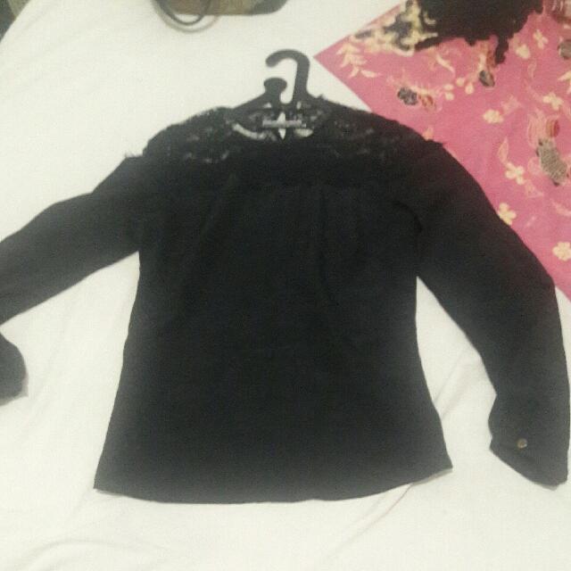 baju kemeja hitam