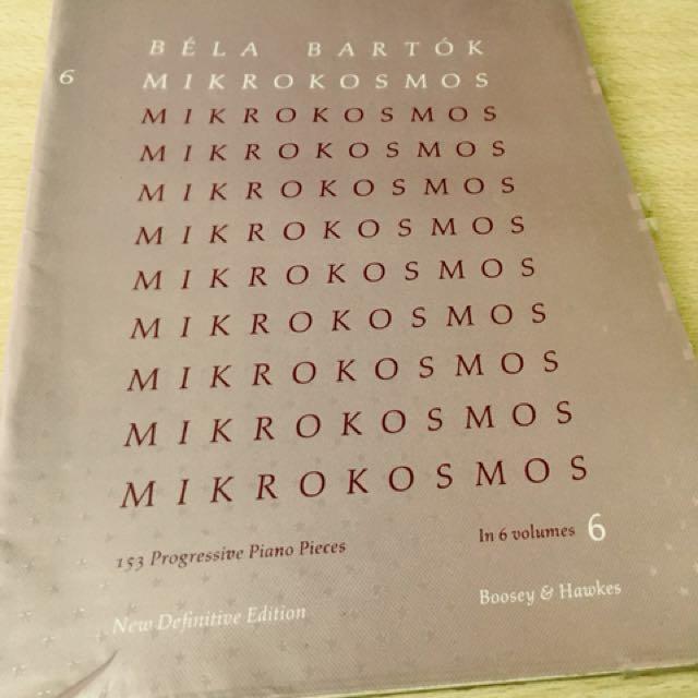 BartokMikrokosmos Volume 6Boosey & Hawkes