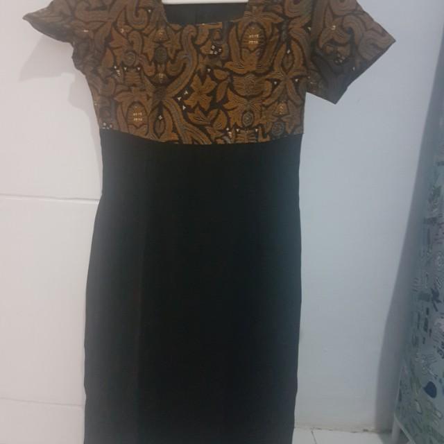 Batik Dress by Sjaherman Daughter