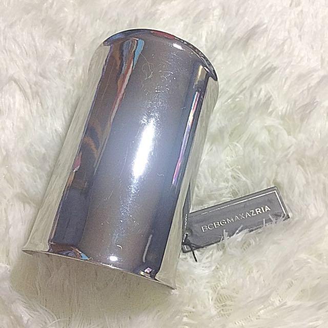 BCBG Max Azria silver cuff bangle