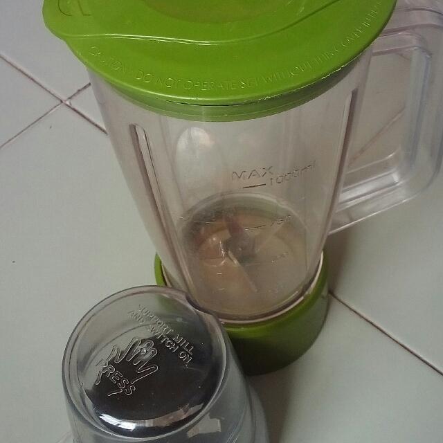bekas blender & pengisar mini