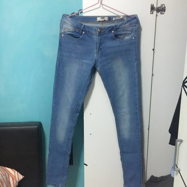 e3a89c268bfb2 Bershka Super Skinny Low Rise Jeans - Ladies, Women's Fashion ...