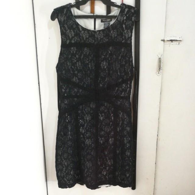 FLASH SALE!!!!! BLACK LACY DRESS