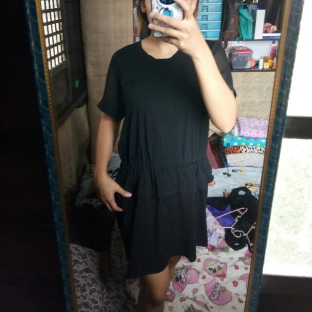 Black Oversized Dress