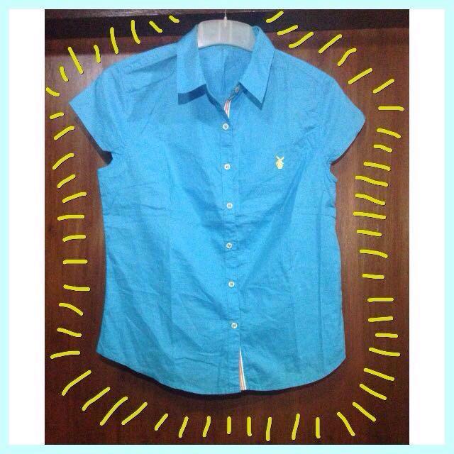 Blue Tshirt / Kemeja