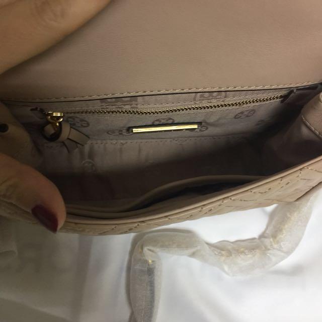 34358bb1f38b BN Authentic Tory Burch Fleming Small Convertible Shoulder Bag New Mink