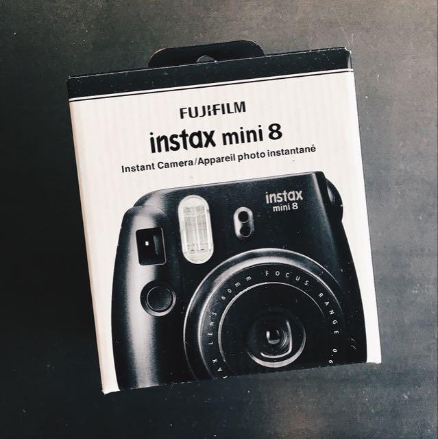 Brand New Instax Mini 8 - Black