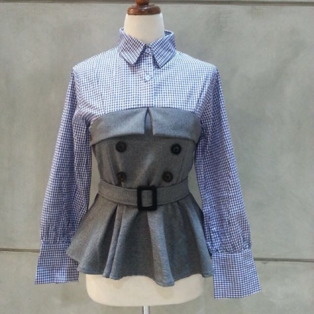 Button shirt blouse