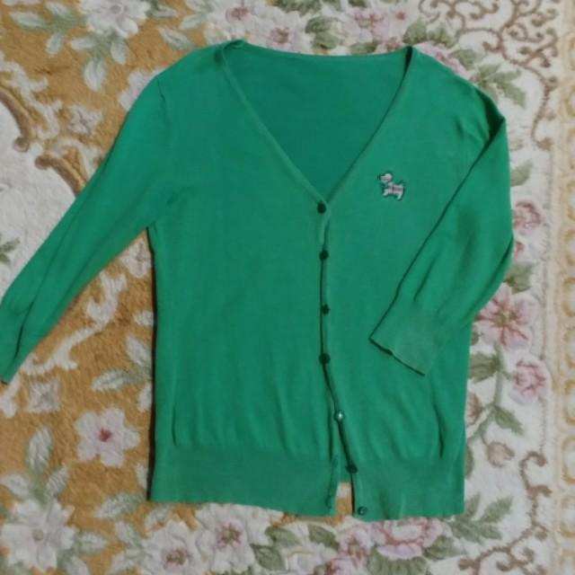 Cardigan hijau