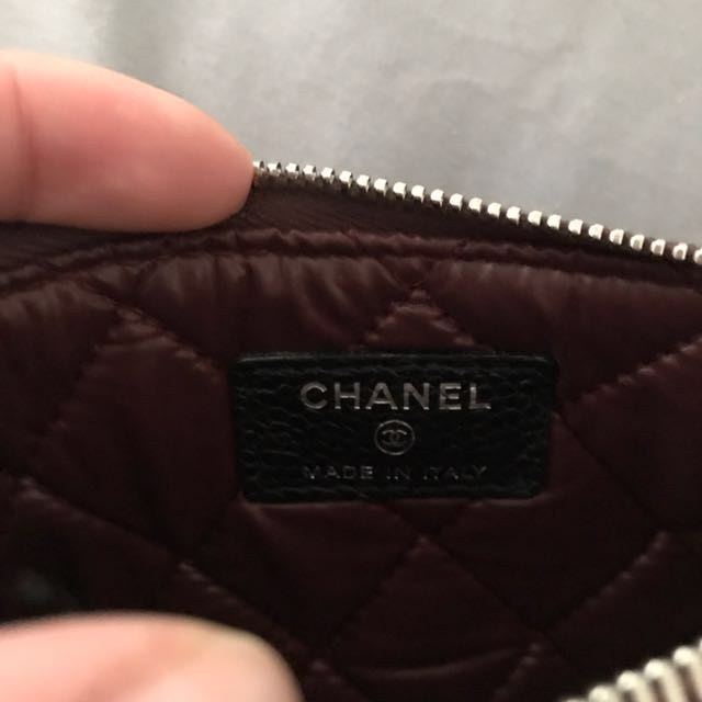 Chanel coin wallet