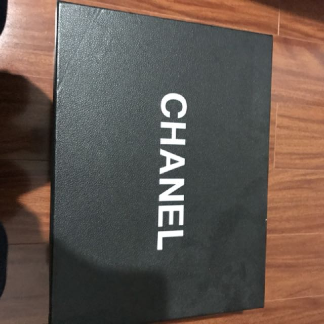 Channel GST shopping toe brand new
