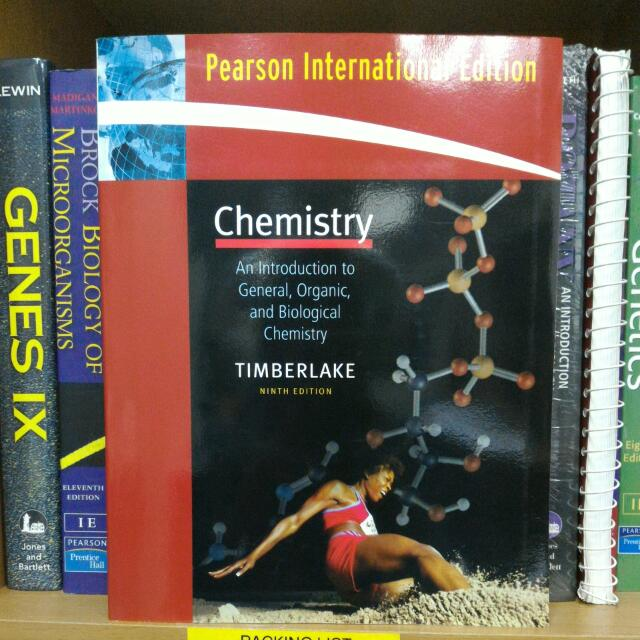 CHEMISTRY An Introduction To General, Organic, & Biological Chemistry