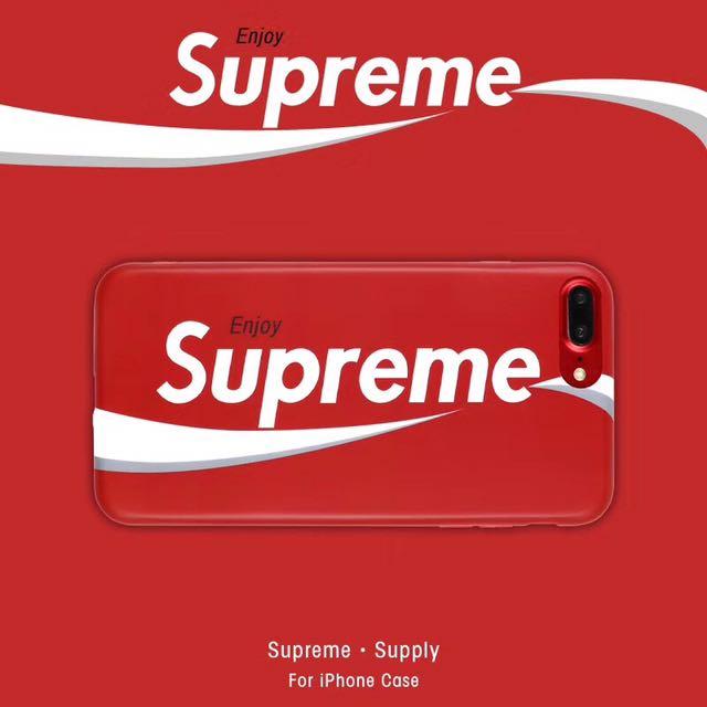 Coke Supreme design TPU case
