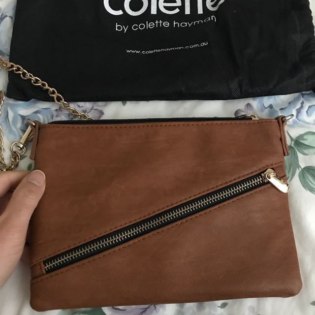 Colette Brown Satchel Bag