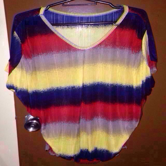 Colored Loose Blouse