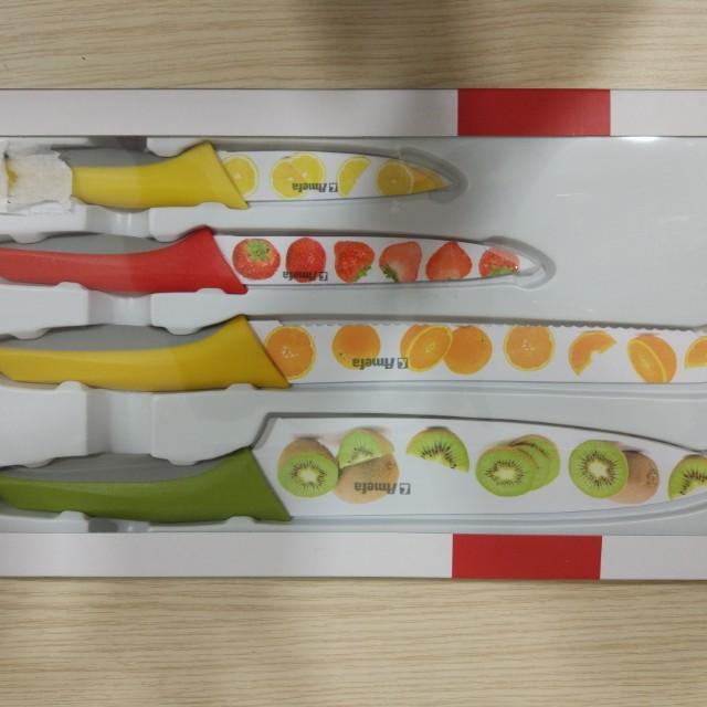 Coloured Knives Set