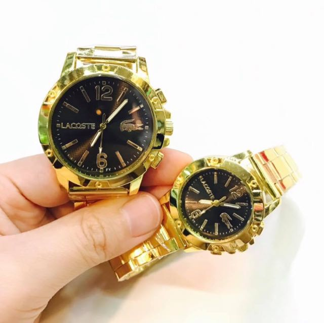 Couple watch ⌚️ with free box