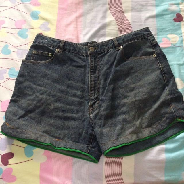 Denim Shorts (Plus Size)