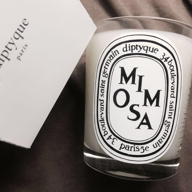 diptyque 香氛蠟燭 mimosa