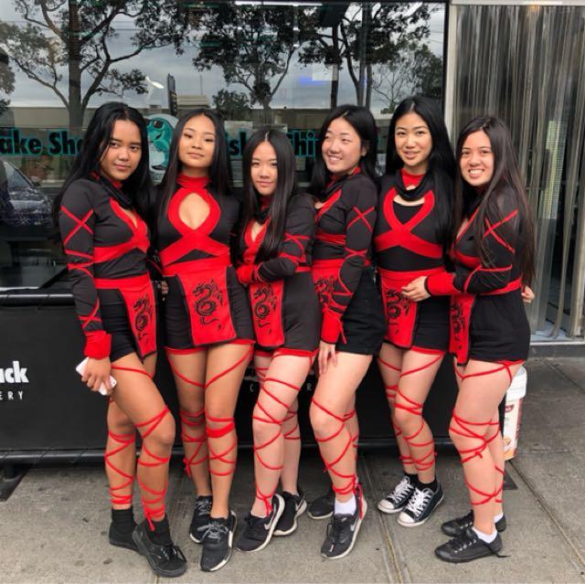 Dragon Ninja Costume