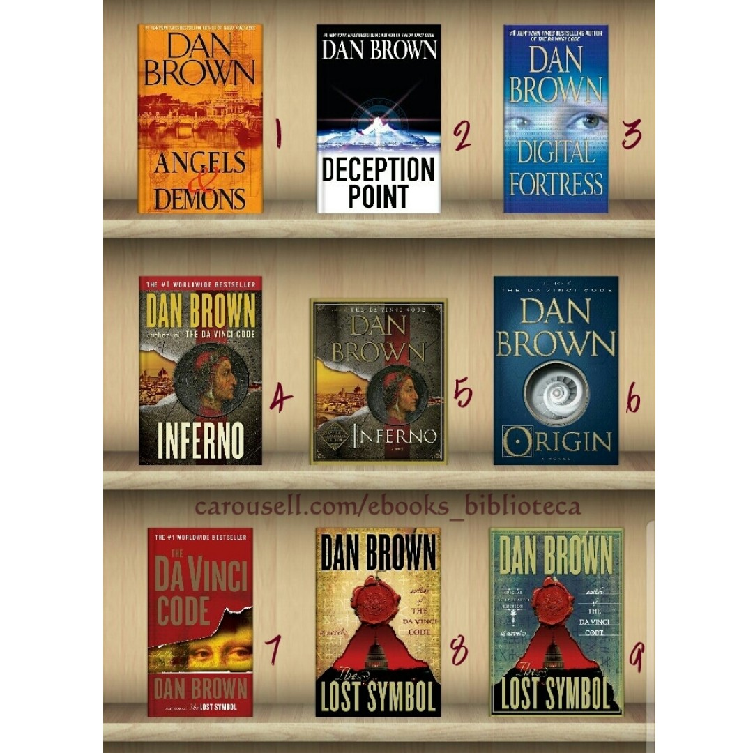 Ebook collection dan brown books books on carousell photo photo photo photo photo biocorpaavc Image collections