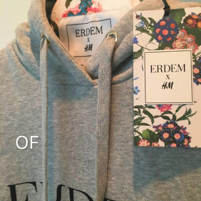 3e9d747608c9 ERDEM H&M Hoodie Ladies, Women's Fashion, Clothes, Others on Carousell