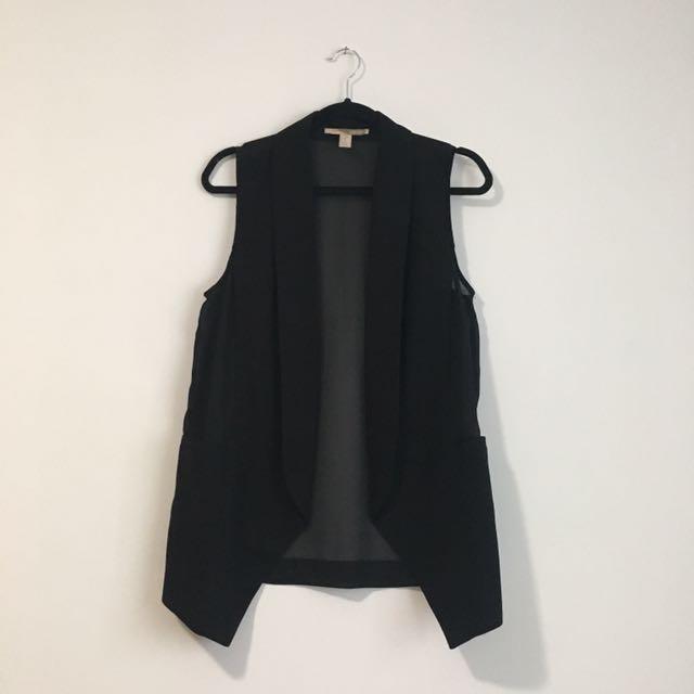 F21 Contemporary Sleeveless Vest