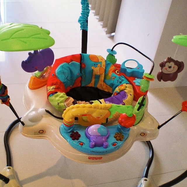 9e6bbdbe5d10 Fisher Price Luv U Zoo Jumperoo