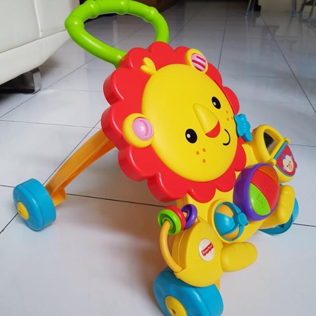 Fisher Price Musical Lion Walker Bayi & Anak Mainan Anak & Bayi di Carousell