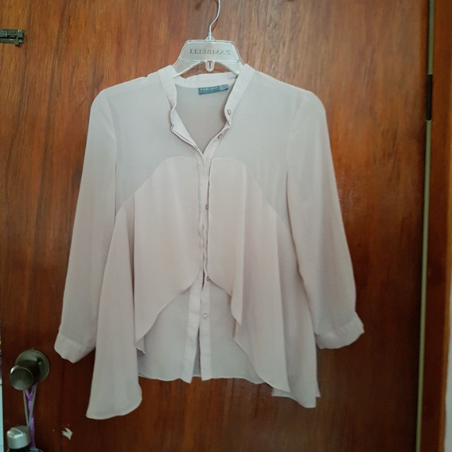 Forcast beigh blouse