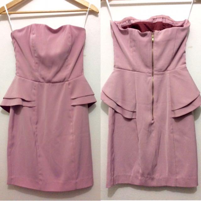 Forever 21 Peplum Dress