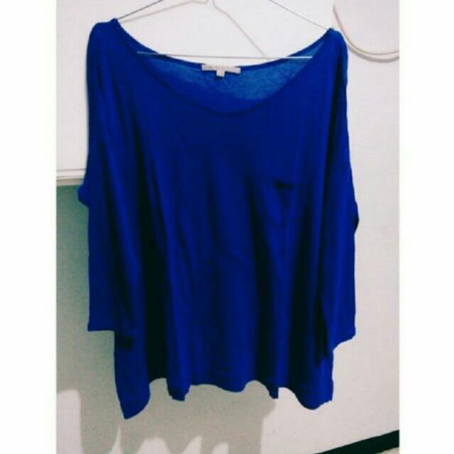 GAP Blue Top
