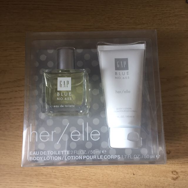 GAP gift pack - fragrance and lotion