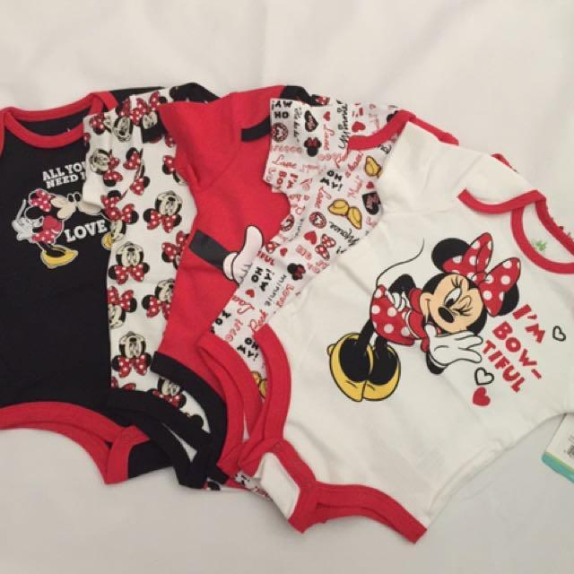 Girls Disney Minnie Mouse 5 Piece Set