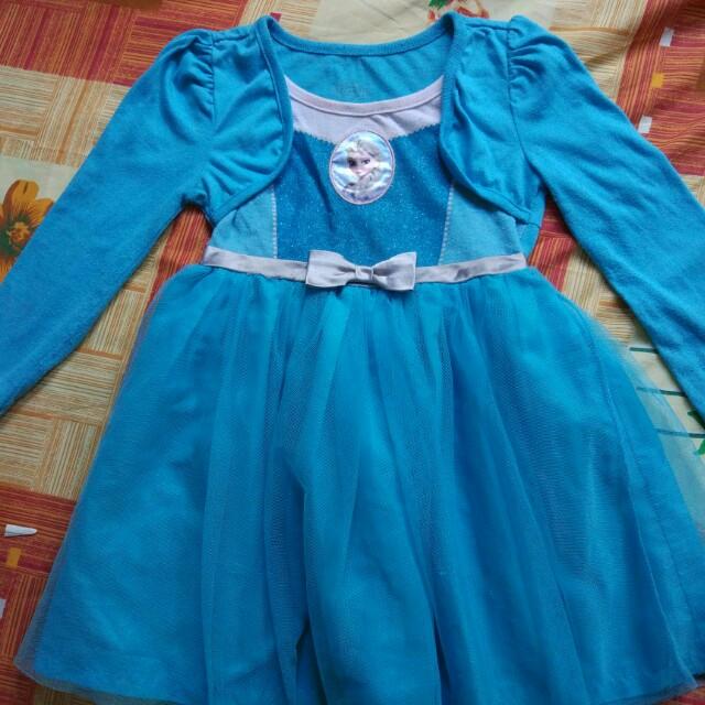 Girl's Frozen Dress 4T