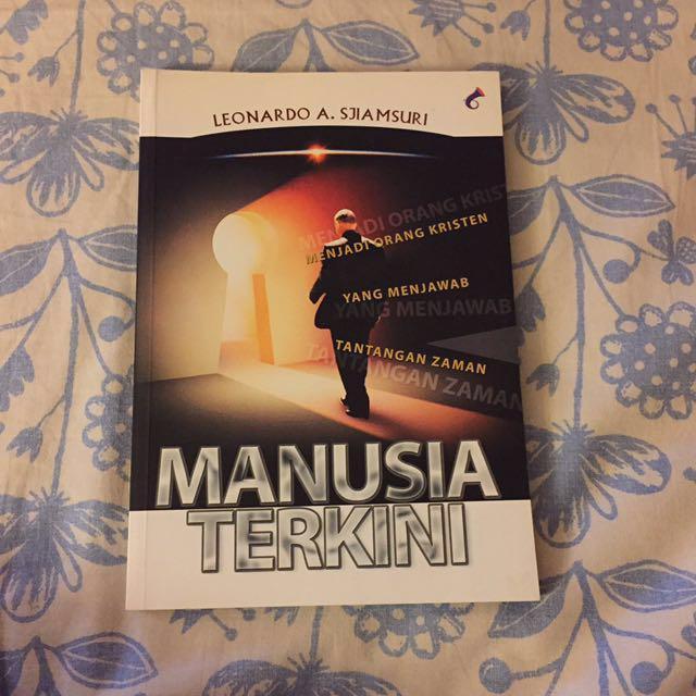 🎈Giveaway 🎈Buku Kristen manusia terkini by leonardo sjiamsuri