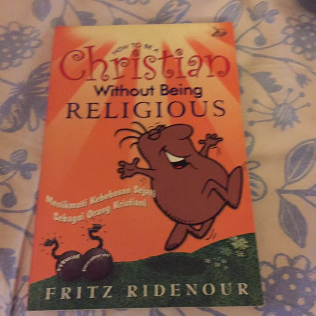 🎈Giveaway🎈how to be a christian without being religious