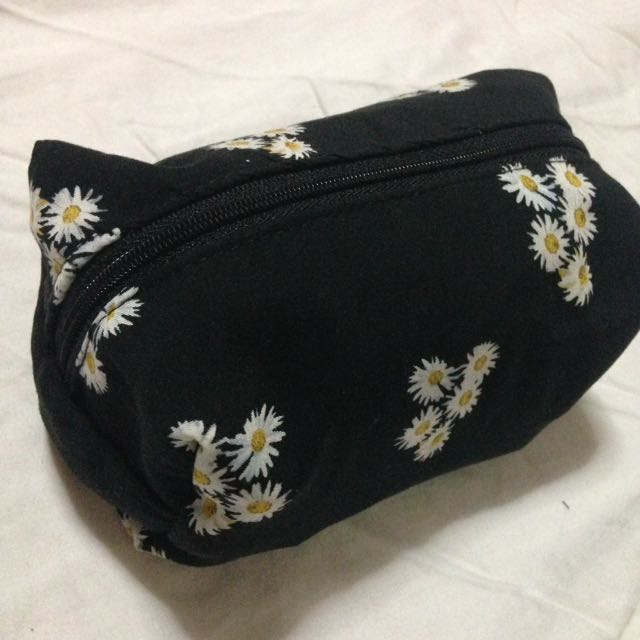 Handmade make up pouch