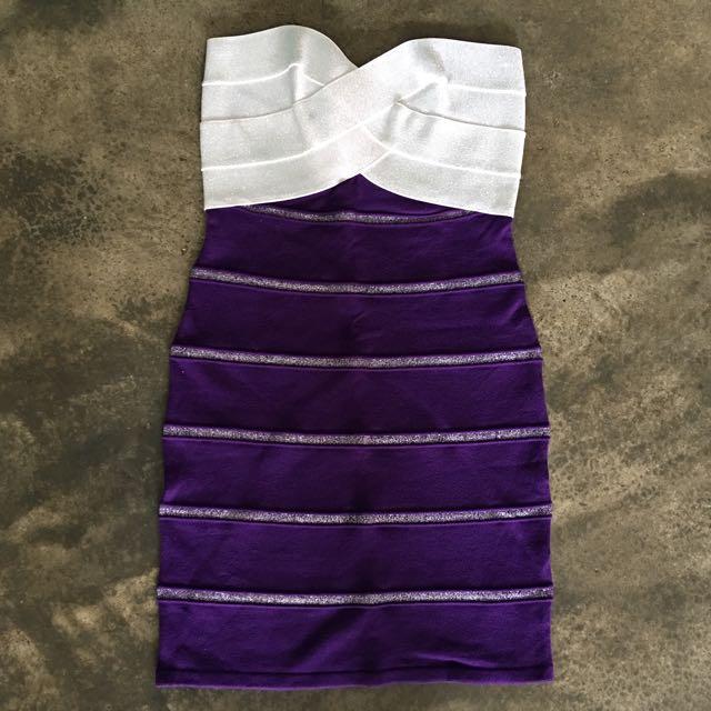 Herve Leger Inspired Bodycon Dress