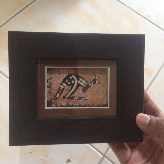 Hiasan Frame Gambar Kingaroo Made In Australlia Design Craft Artwork On Carou