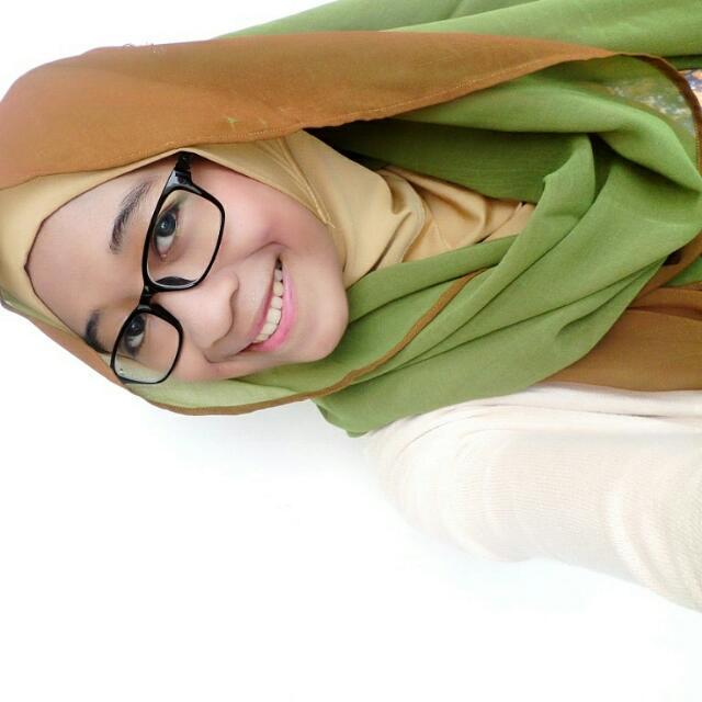 Hijab Pashmina Two Tone