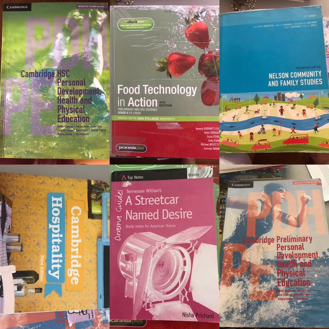 HSC/ Preliminary textbooks