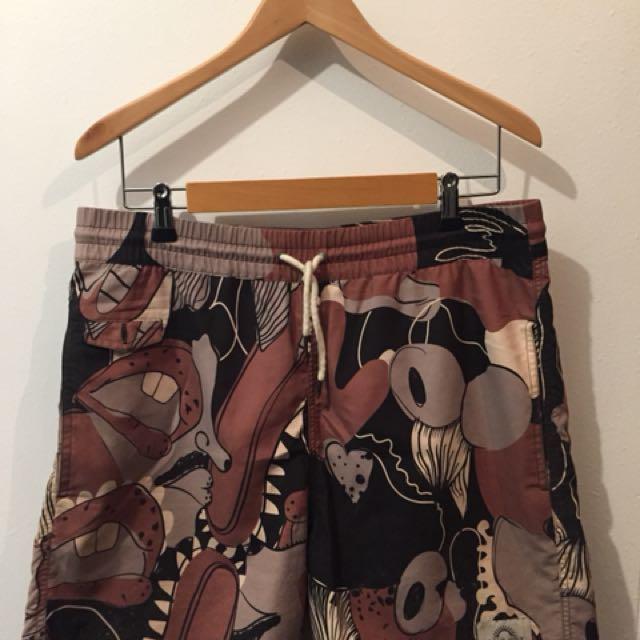 I Love Ugly Board Shorts XL