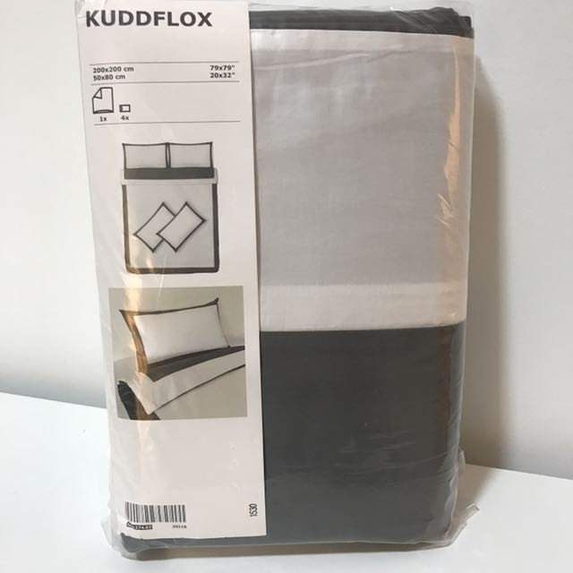 Ikea Quality Hotel design queen bed quilt cover set